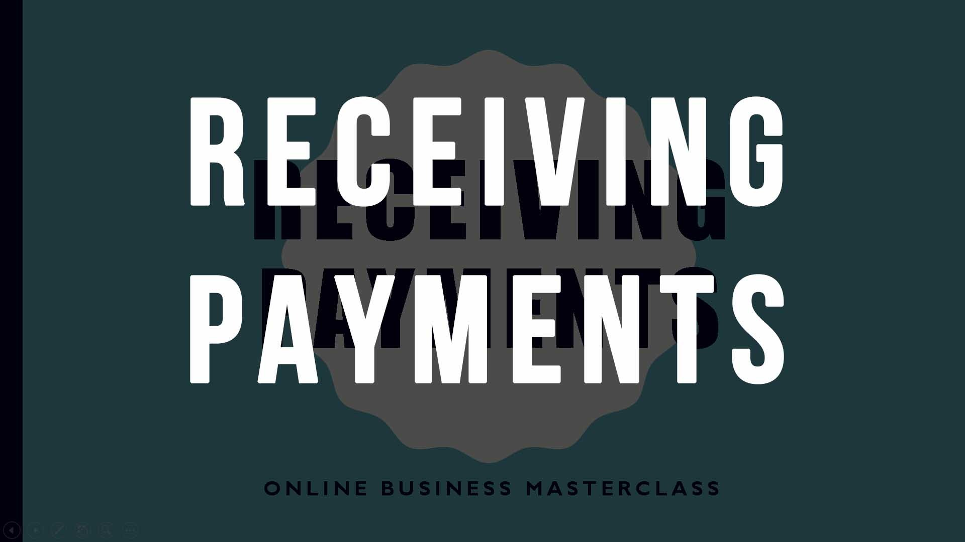 RECEIVING PAYMENTS FROM CUSTOMERS
