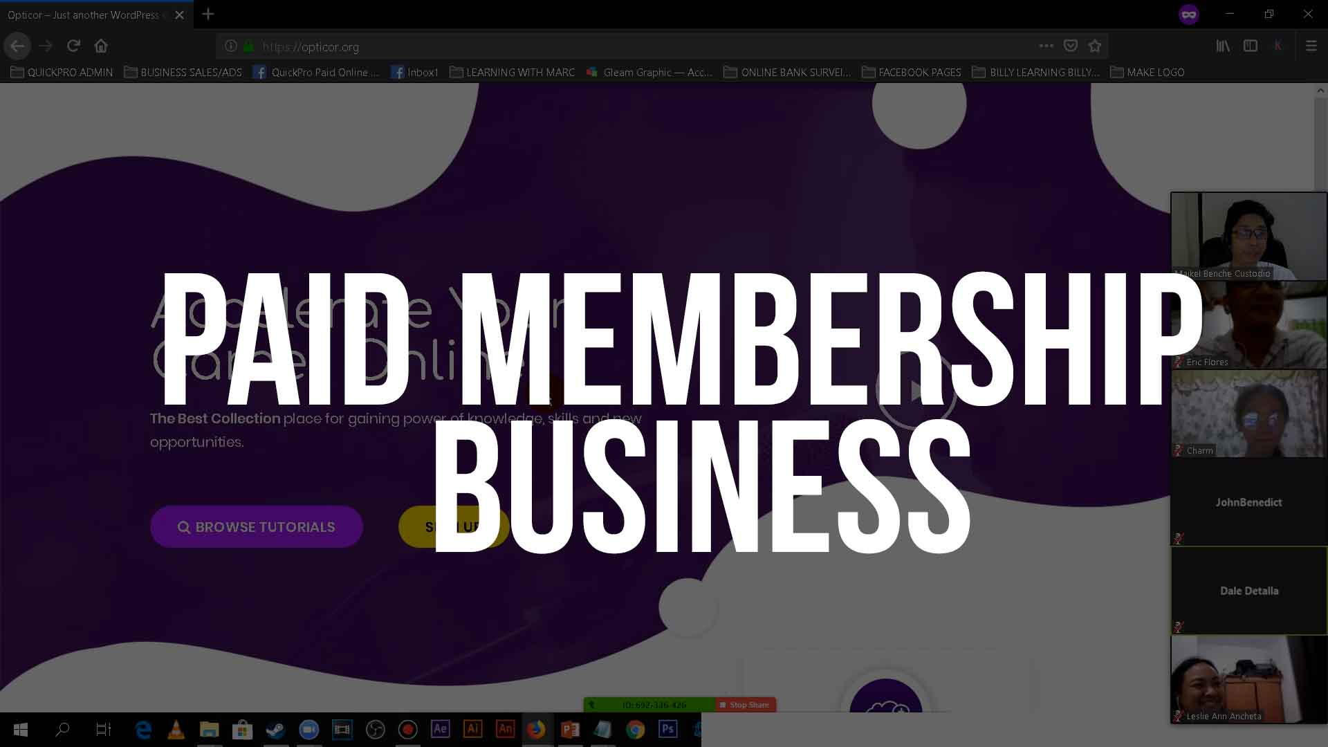 PAID MEMBSERHIP