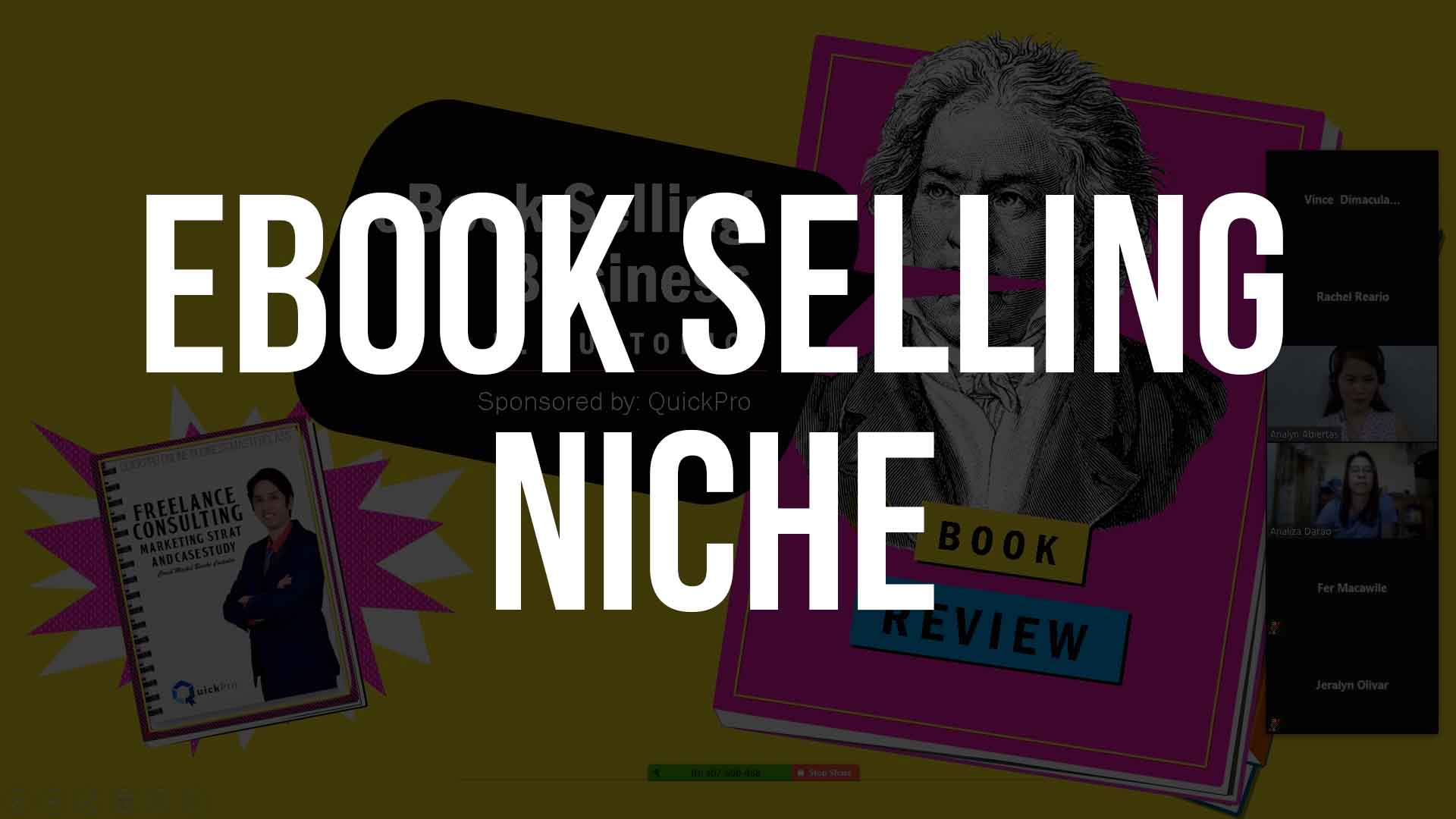 ebook selling niche