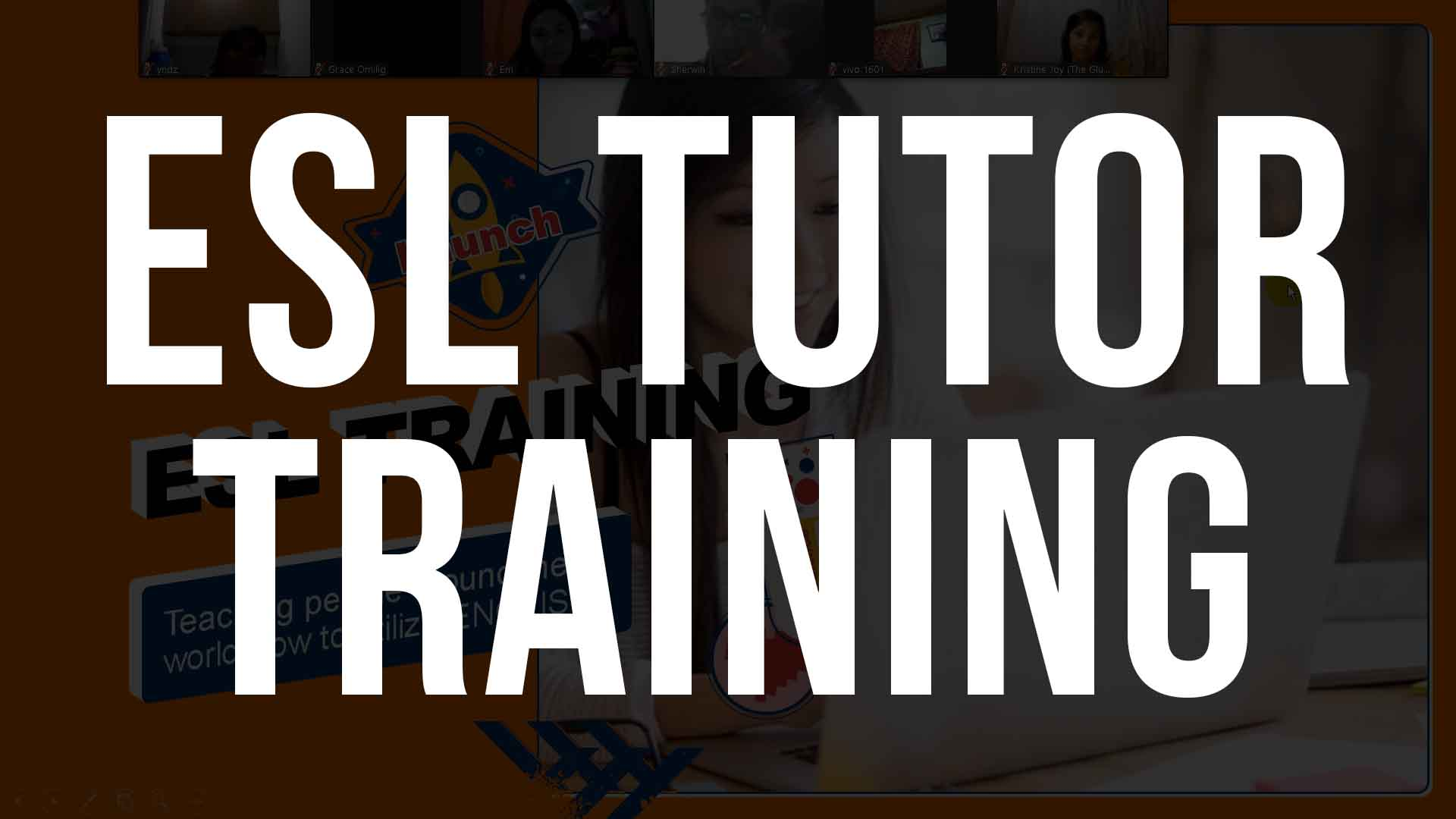 ESL TUTOR TRAINING