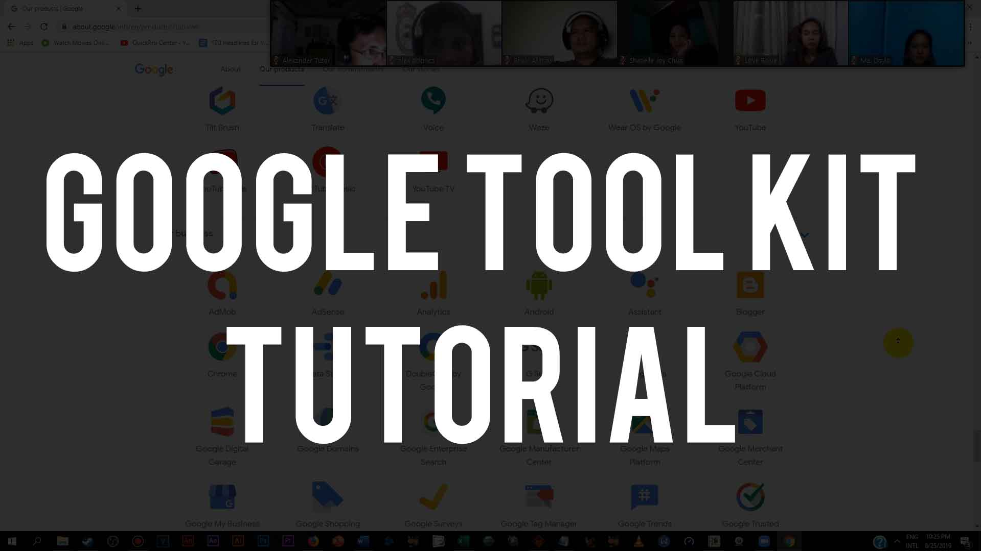 Google Tool Kit Tutorial