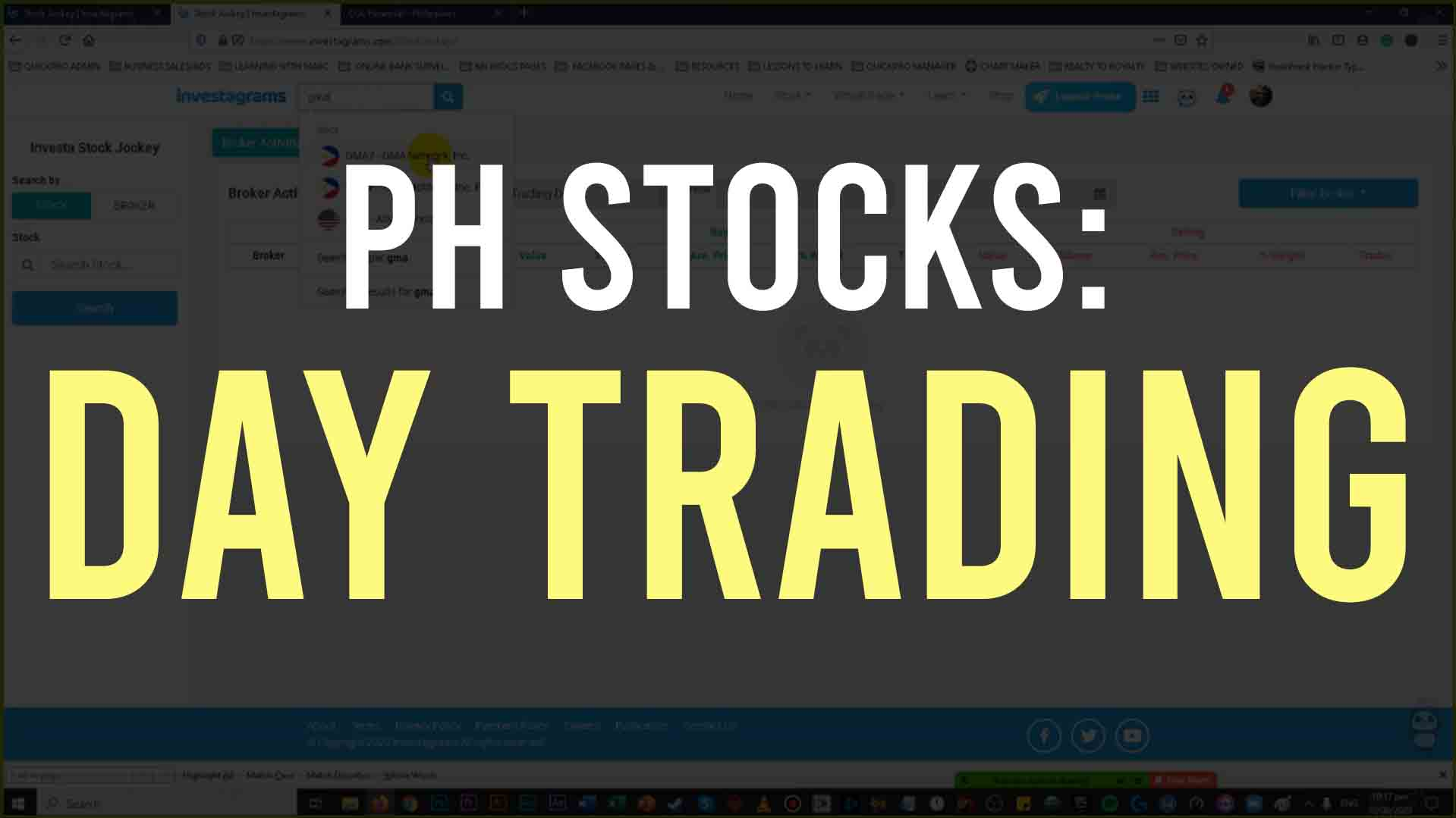 PH STOCKS DAY TRADING